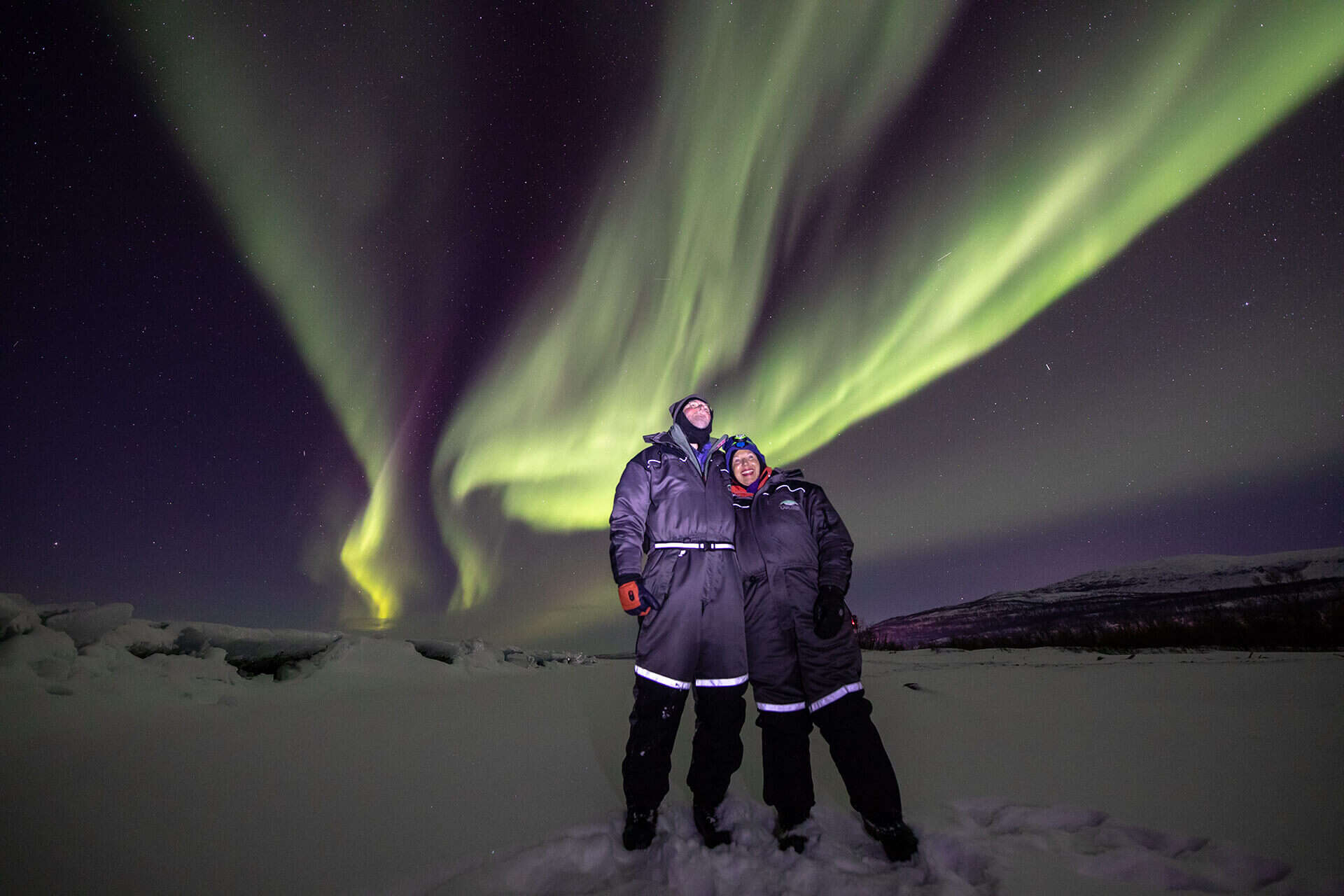 Experience the magical aurora borealis in Abisko National Park Sweden - Lights over Lapland