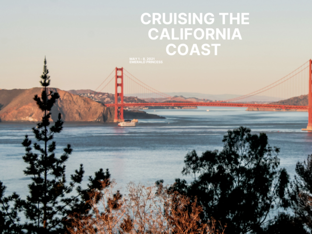 Cruising the Califorinia Coast