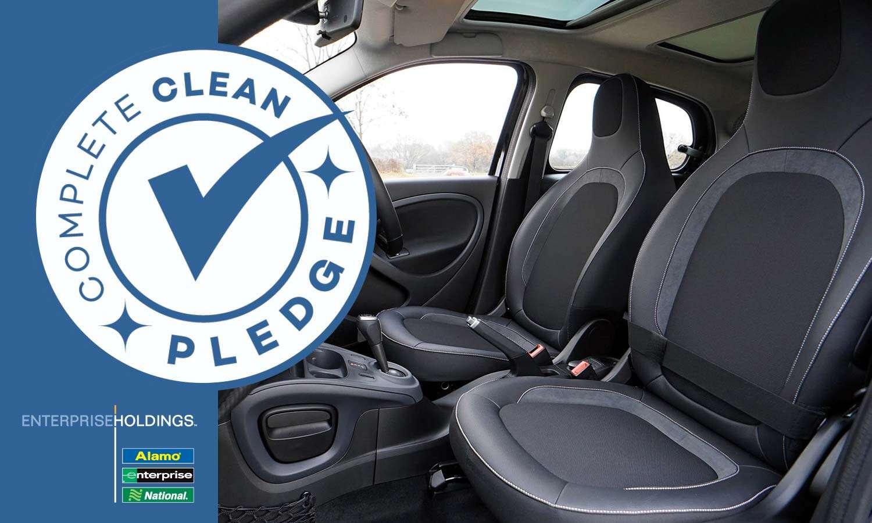 Enterprise Holdings Car Rental Brands Implement Complete Clean Pledge