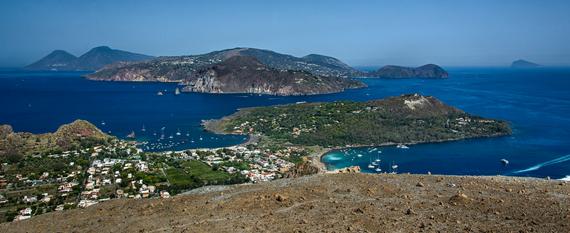 Visiting the  Aeolian Islands, Lipari