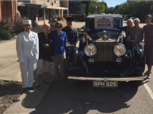 A step back in time with 1934 Rolls Royce