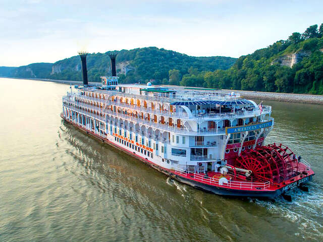 American Queen Steamboat Company - Up to $3,000/stateroom select 2021 voyages.