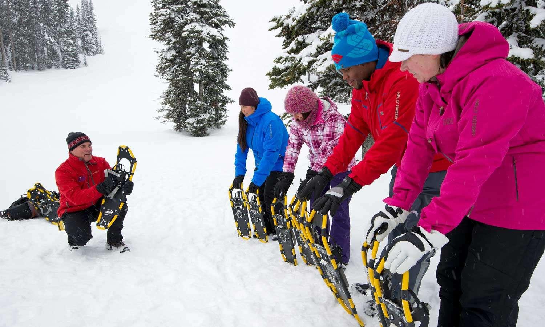 Sun Peaks Ski & Snowshoe Package