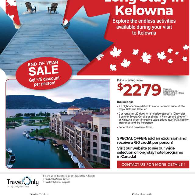 Long Stay In Kelowna