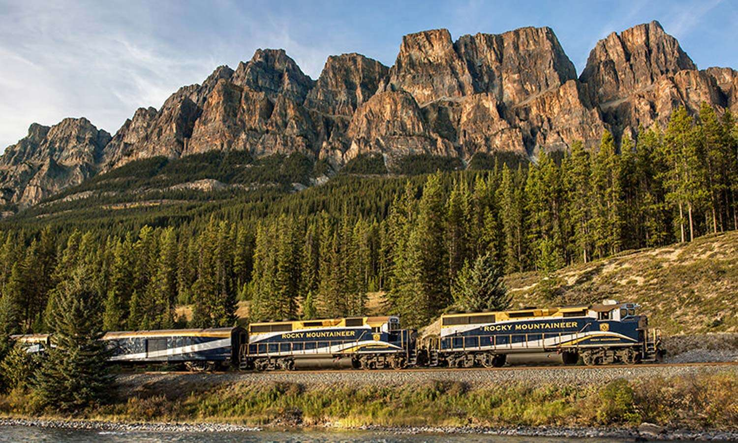 Ride the Rails through North America's Rocky Mountains in 2021