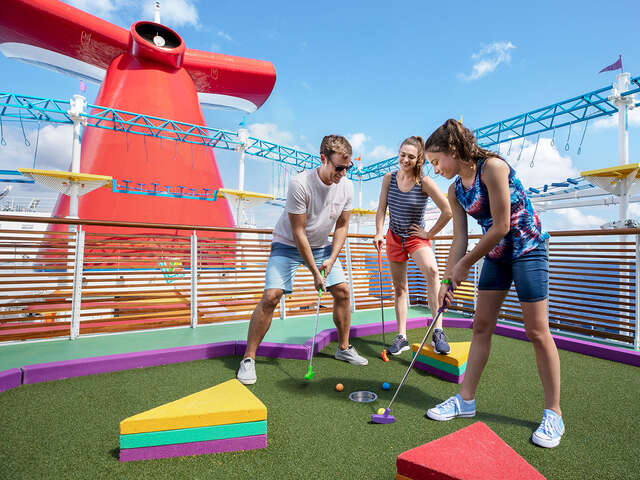 Carnival Cruise - All the fun, for all the family.