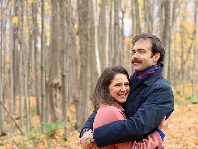 Laura and Joshua