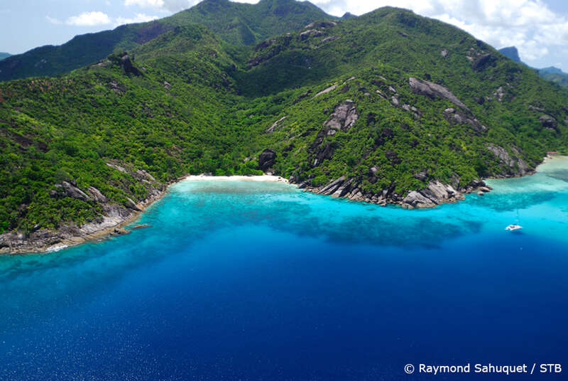 The Seychelles, Covid restriction free and one stop from Denver.