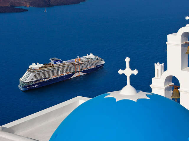 Celebrity - Book a veranda stateroom and receive $75 Onboard Credit