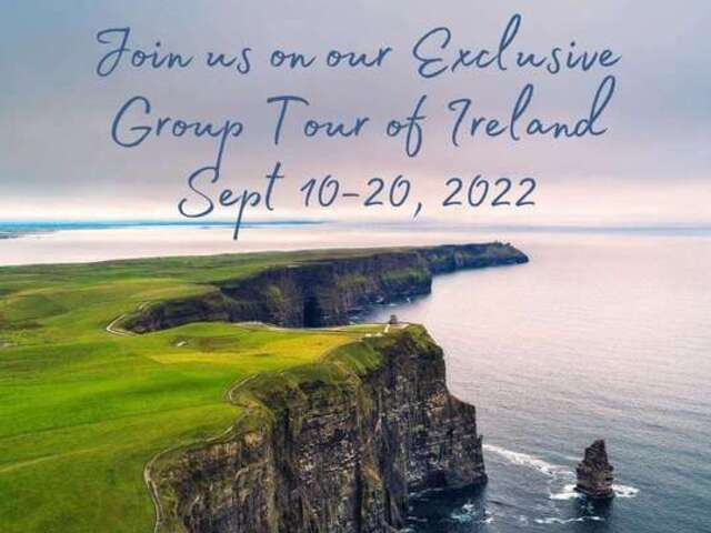 Exclusive Tour of Ireland - Sept 2022