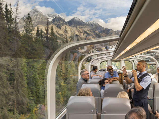 Rocky Mountaineer - $150 Merchandise Credit and up to four free perks per booking on qualifying 2022 Canadian Route Packages