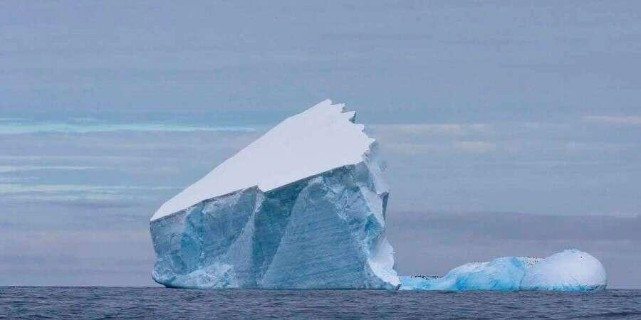 Towards Antarctica - At sea