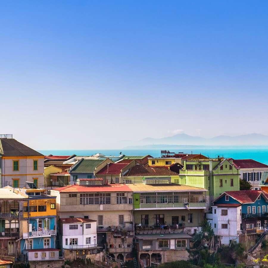 Vibrant 'Valpo'  - Valparaíso, Chile