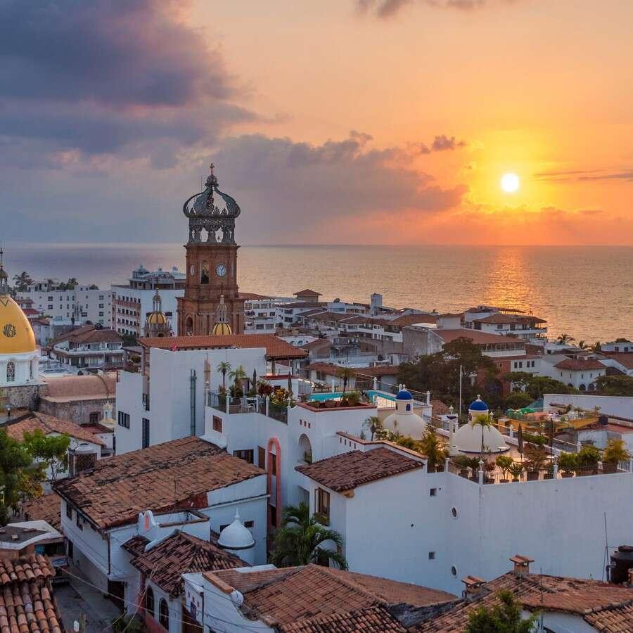 Mexican resort city - Puerto Vallarta, Mexico