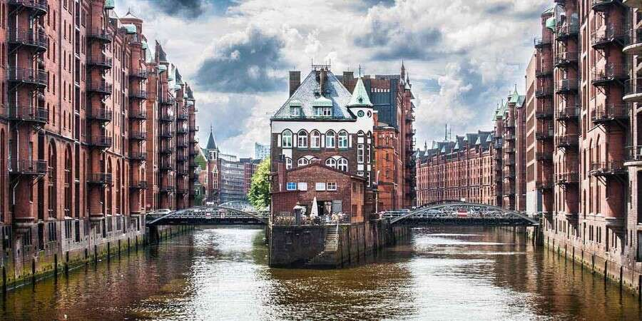 Canals and Gardens - Hamburg, Germany - Embarkation - Full Day
