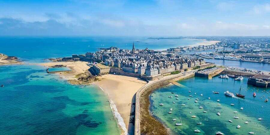 A Pirate Stronghold - St. Malo, France - Full Day