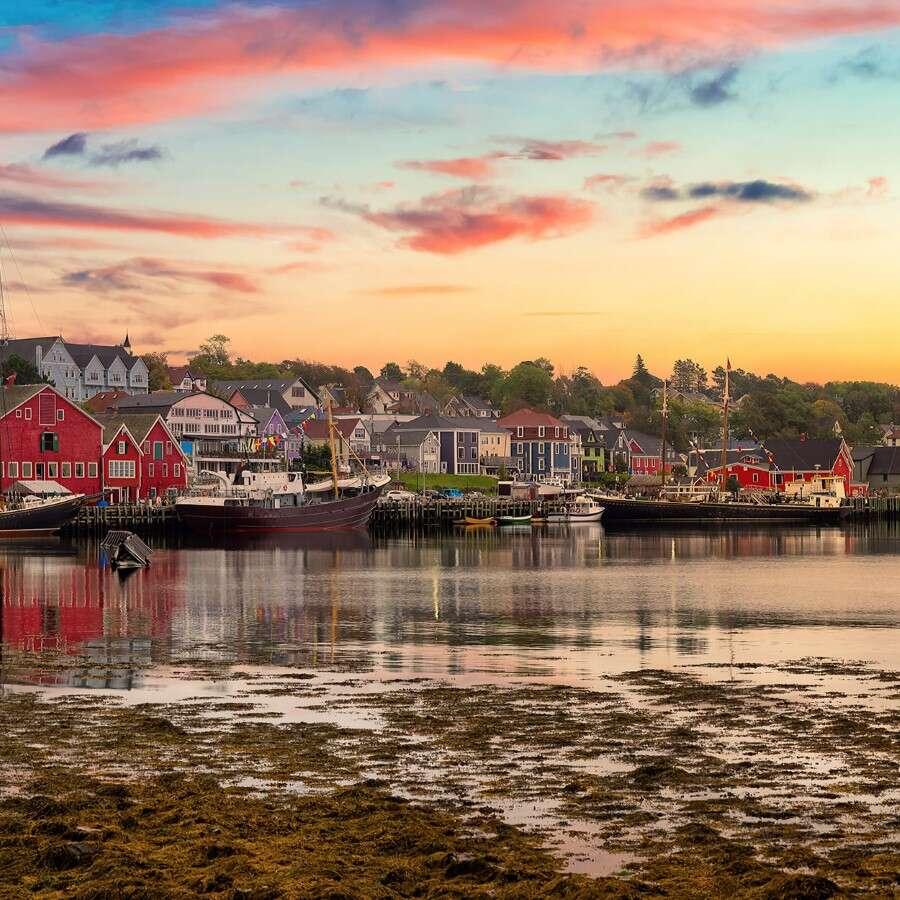 A Colorful Colonial-era highlight - Lunenburg, Nova Scotia