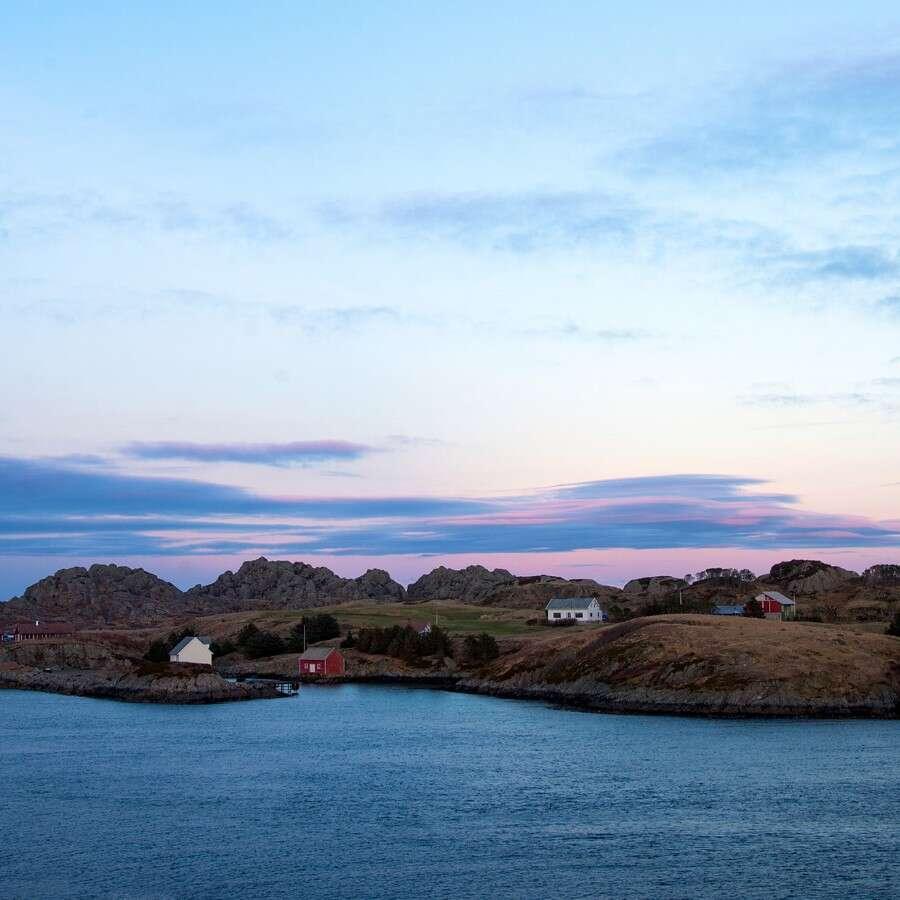 Life on the windswept islands - Værlandet, Norway