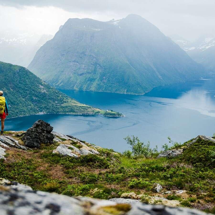 Hidden tranquility - Hjørundfjord, Norway