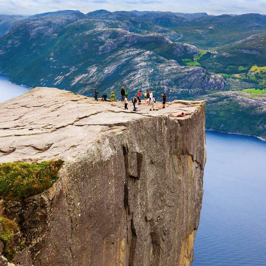 The beauty of Ryfylke - Lysefjord, Norway