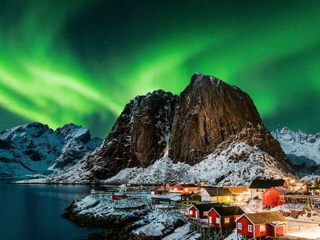 Christmas Cruise to the Northern Lights in Norway