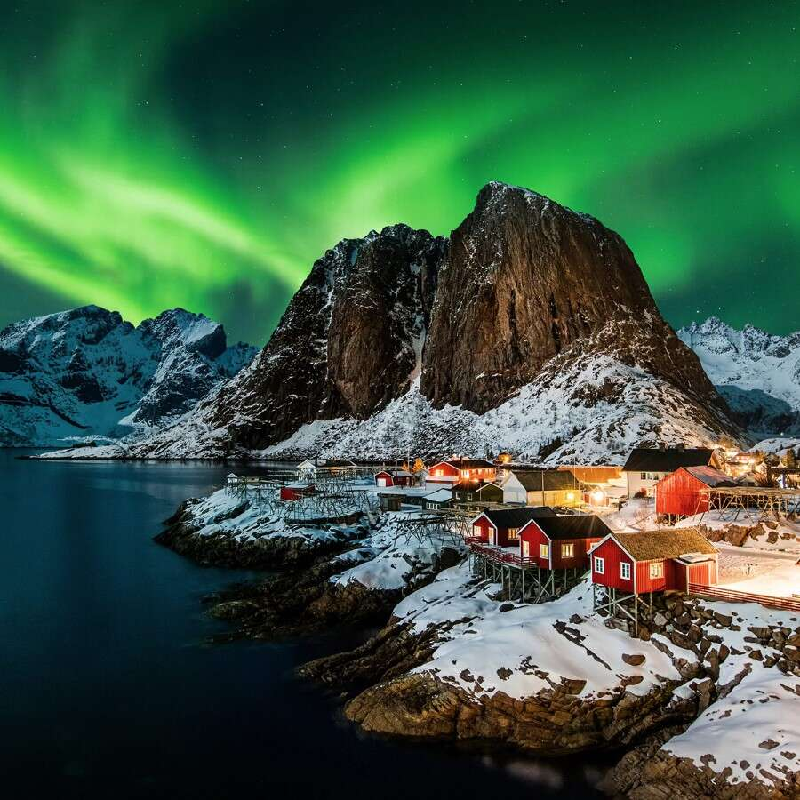 Starting the year in stunning scenery - Reine