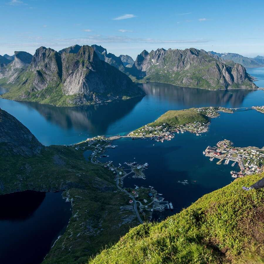 Iconic island landscapes - Reine, Norway