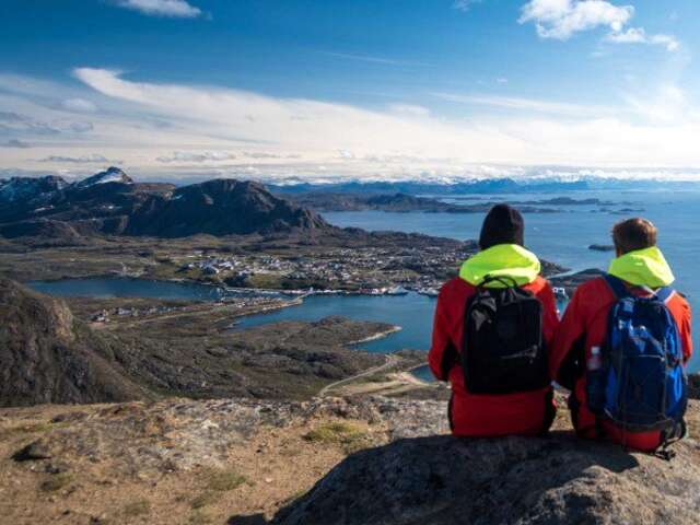 The Heart of Greenland with Disko Bay