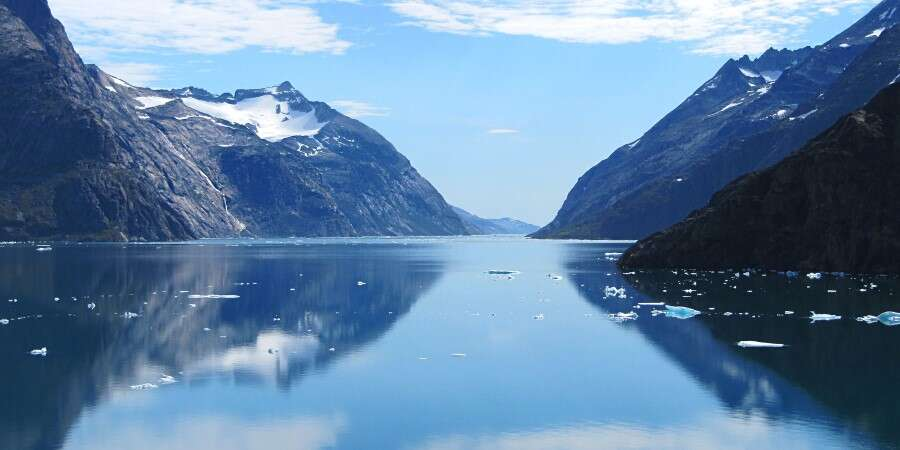 Cruising Greenland Deep Fjords Under the Towering Peaks - Skjoldungen