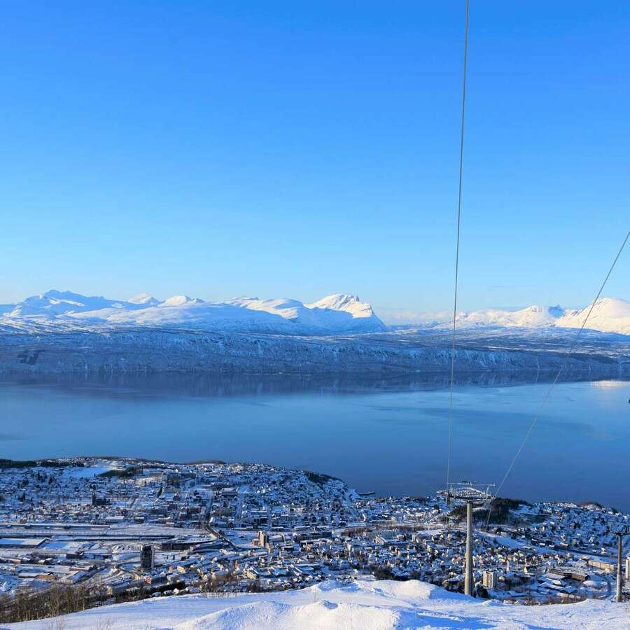 History and Mountains - Narvik, Norway