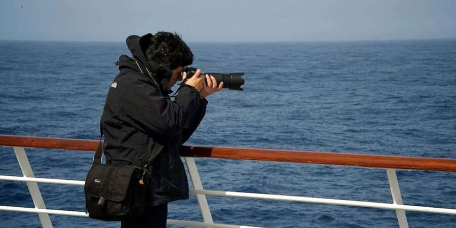 The Magellan Strait - At Sea