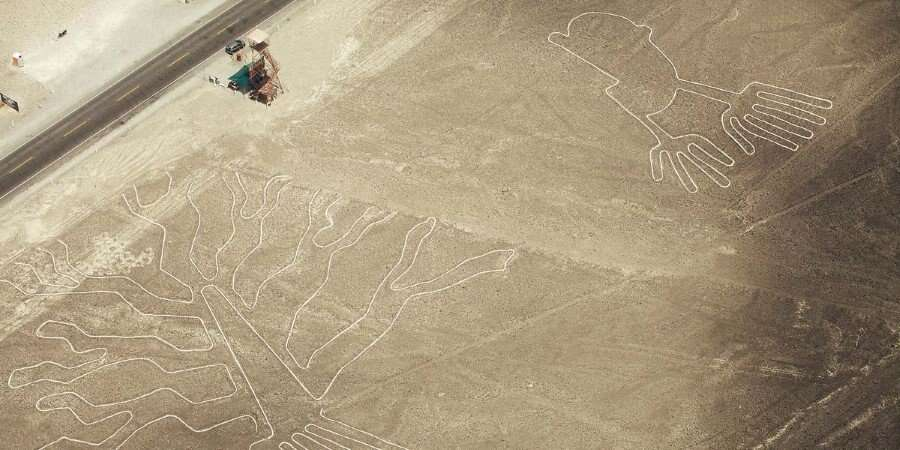 The Mysterious Nazca Lines - Puerto General San Martin, Peru
