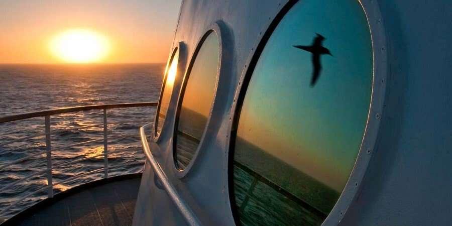 Serenity at Sea - At sea