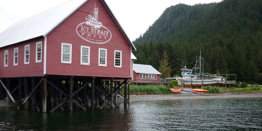 Fish Filleting or Zip Lining?  - Icy Strait Point