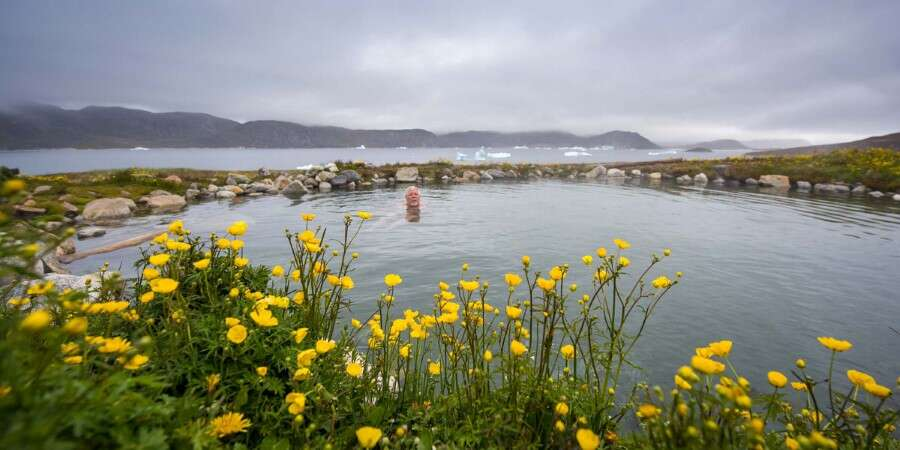 Natural Hot Springs and Ruins of Norse Greenland - Uunartoq and Hvalsey