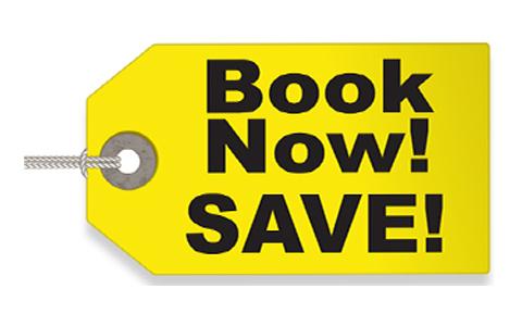 Book & Save