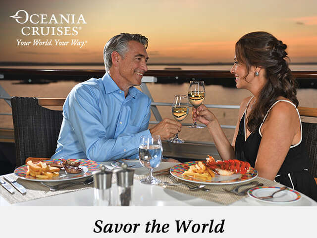 Savor the World with The Finest Cuisine at Sea™
