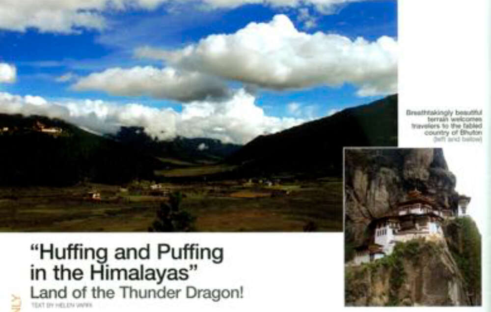 Huffing and Puffing in the Himalayas