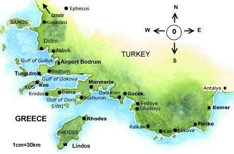 Routing 2 Bodrum and Greece