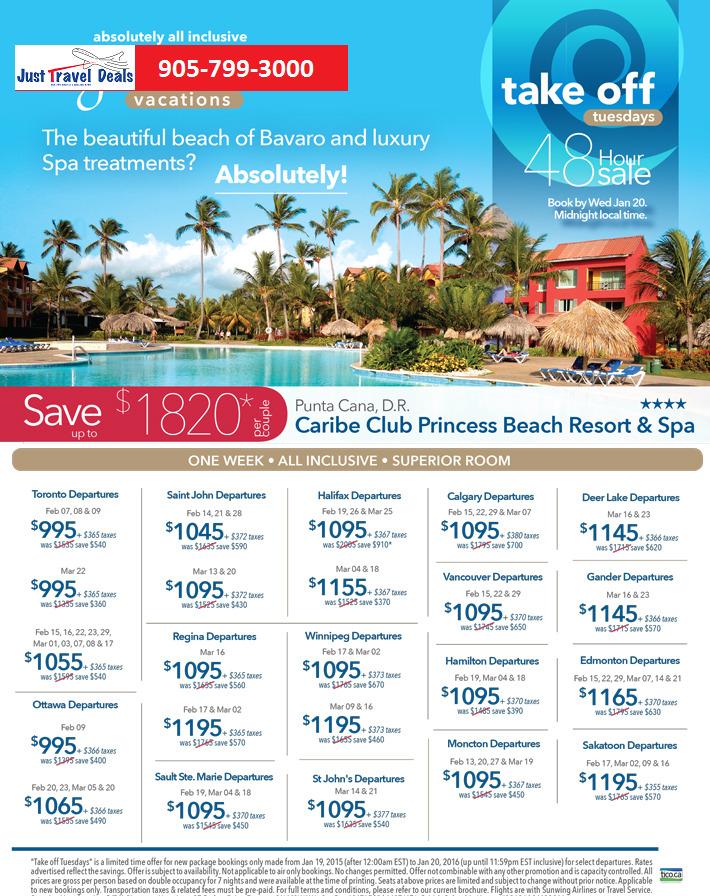 Punta Cana Caribe Club Princess Beach Resort & Spa on sale