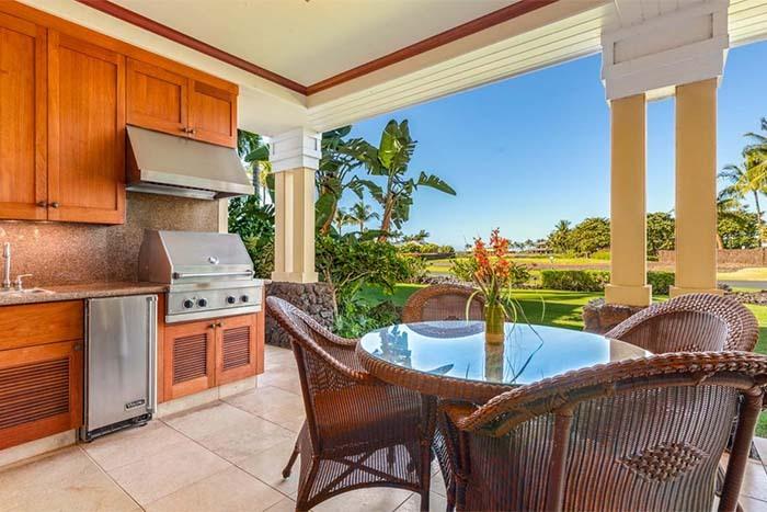 Kohala Coast Vacation Rentals by Outrigger 5 Star, Hawaii Island, Kona, Hawaii patio