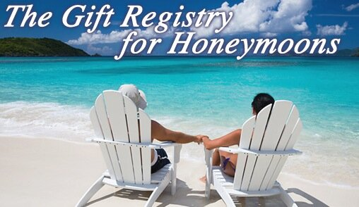 Gift Registry For Honeymoons