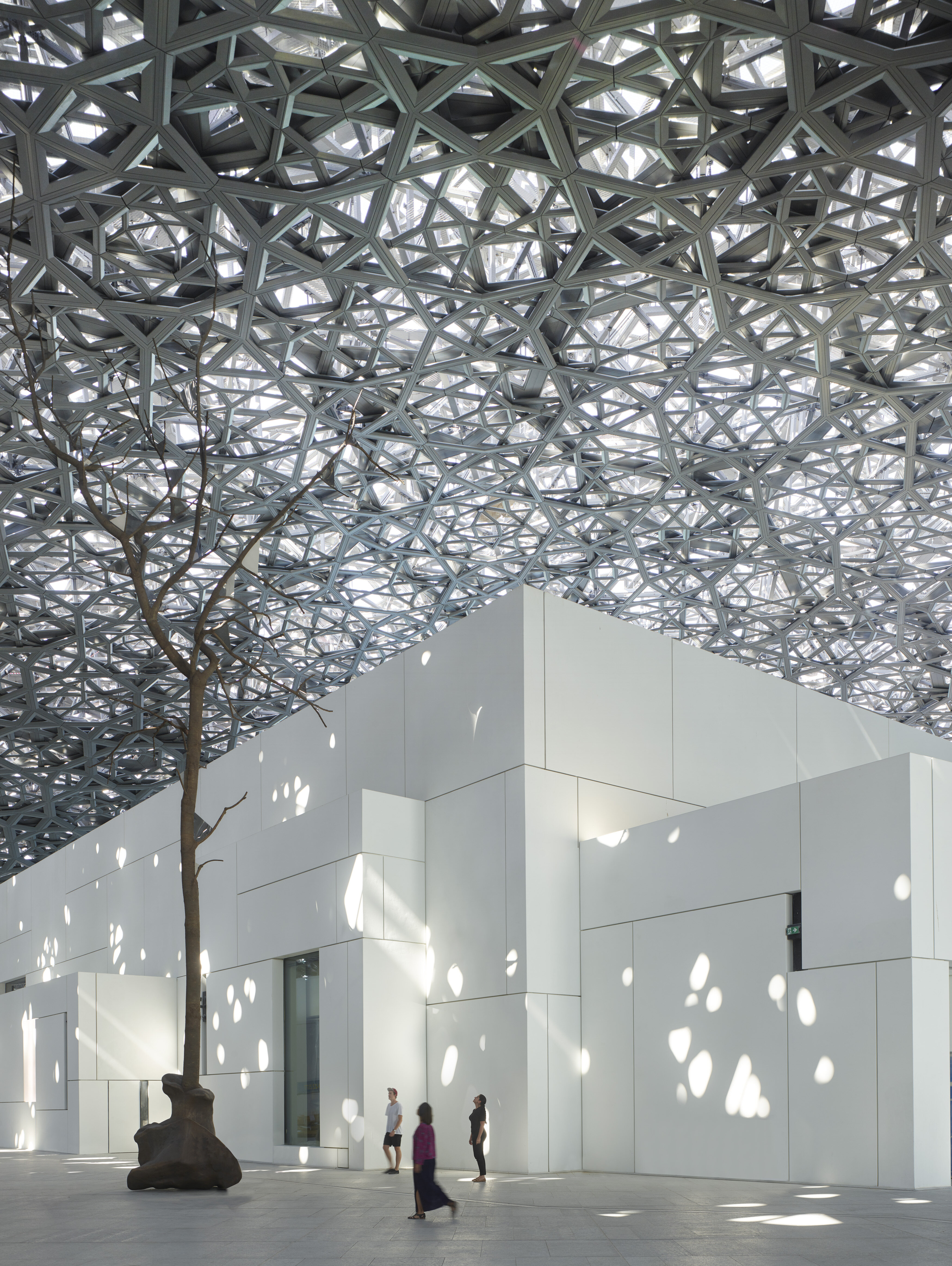 louvre museum Abu Dhabi, photo courtesy of the Abu Dhabi Dept of Culture & Tourism