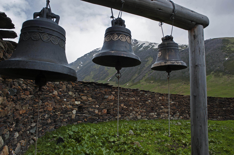 Bells Ushguli Monestary