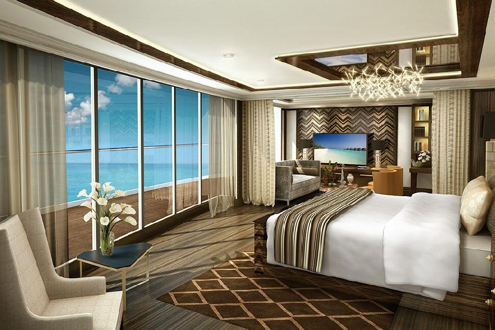 Regent Seven Seas provides the most comfortable, luxurious experience at sea.
