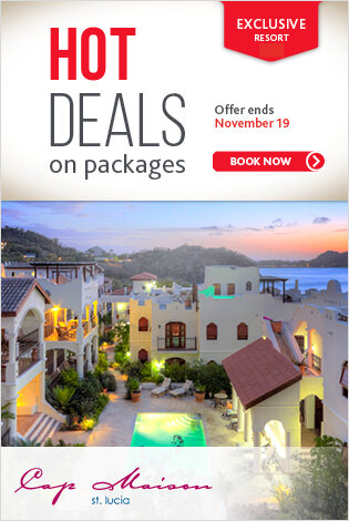 Hot Deals: Saint Lucia - Cap Maison Resort & Spa