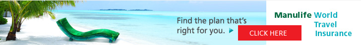 Universal Travel's Manulife's Travel Insurance link