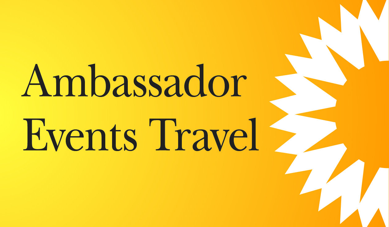Ambassador Events Travel