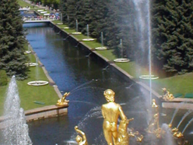 St. Petersburg & Moscow