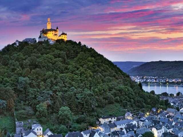 Castles along the Rhine